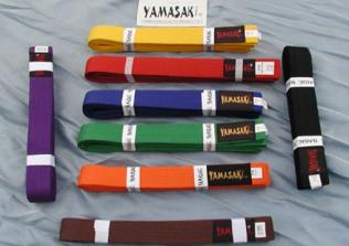 Colour belts